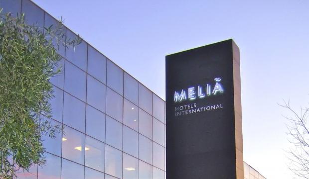 Meliá Hotels International sign