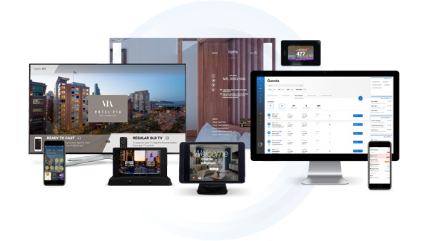 INTELITY app on various devices