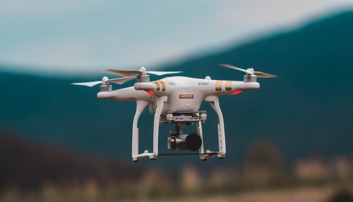Professional quadcopter drone - Photo by Jared Brashier on Unsplash