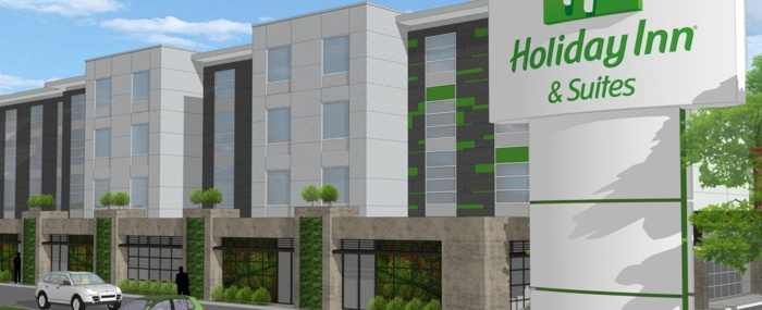Rendering of the Holiday Inn & Suites Calgary South Conference Centre