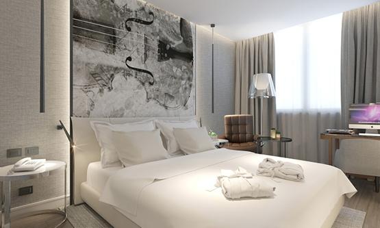 Radisson Blu Hotel Guestroom