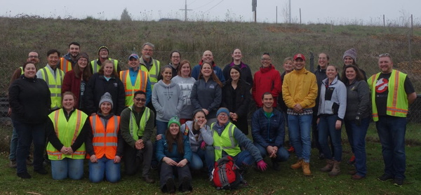 Mereté Associates Volunteer with Friends of Trees in Eugene, OR