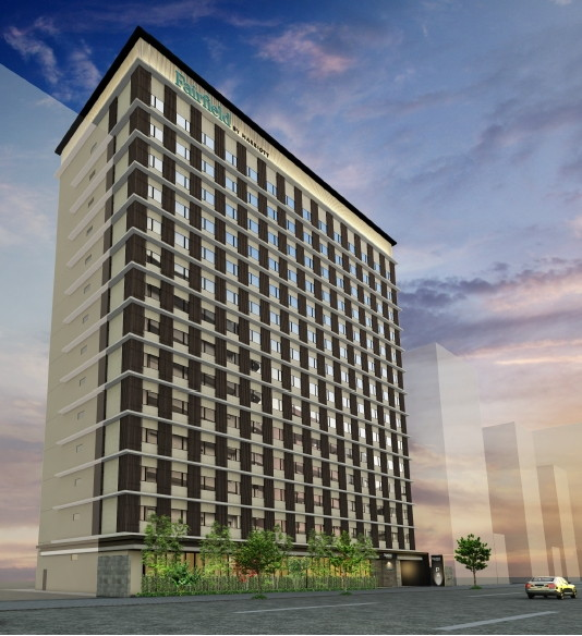 Rendering of the Fairfield by Marriott Osaka Namba