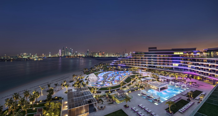 W Dubai The Palm Hotel Opens