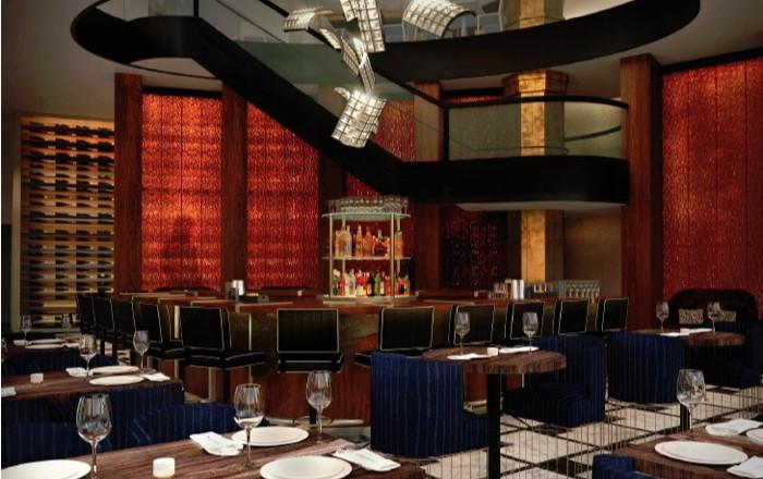Del Frisco's Double Eagle Steakhouse in Los Angeles - Interior