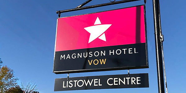 Magnuson Hotel Vow in Listowel, Ontario - Sign