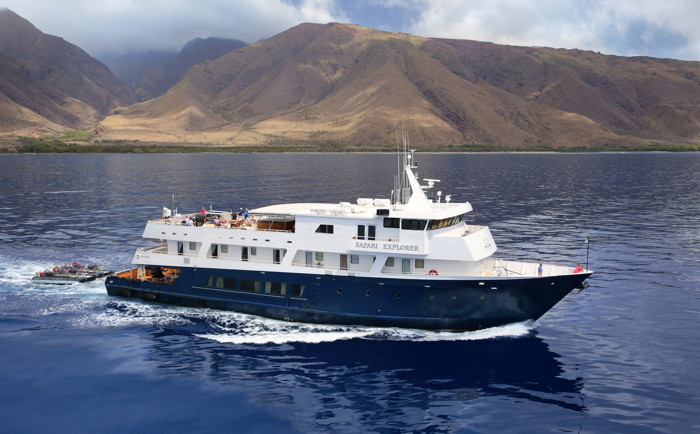 36-guest Safari Explorer cruiser
