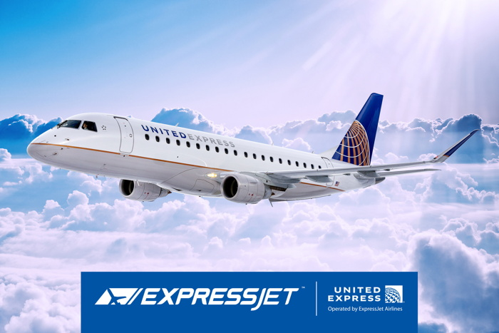 ExpressJet Airlines, a United Express Carrier, Announces Houston as First Embraer E175 Crew Base