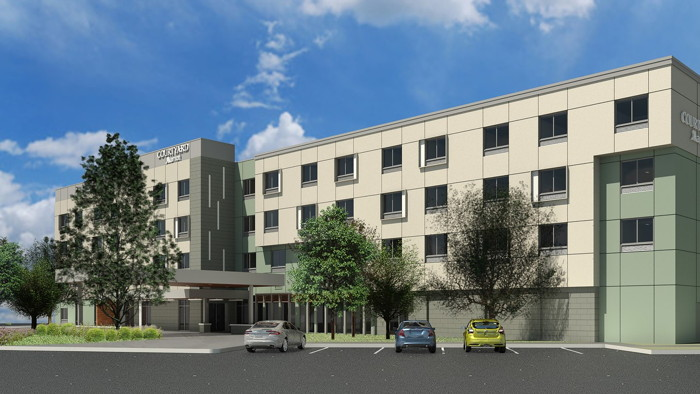 Rendering of the Courtyard by Marriott Loveland/Fort Collins in Colorado