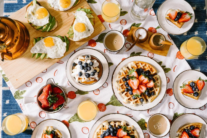 Various breakfast items - Photo by Rachel Park on Unsplash