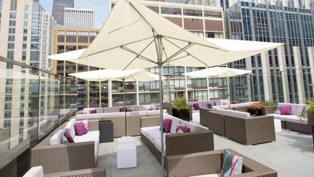 Ivy Boutique Hotel in Chicago - Sky Terrace