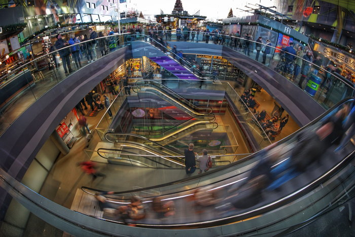 time lapse photography of crowded people in a mall - Photo by Dieter de Vroomen on Unsplash