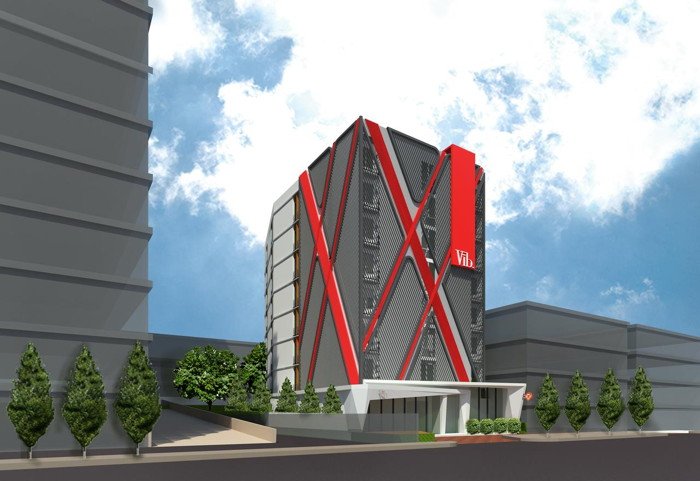 Rendering of the Vīb Best Western Sanam Pao Hotel