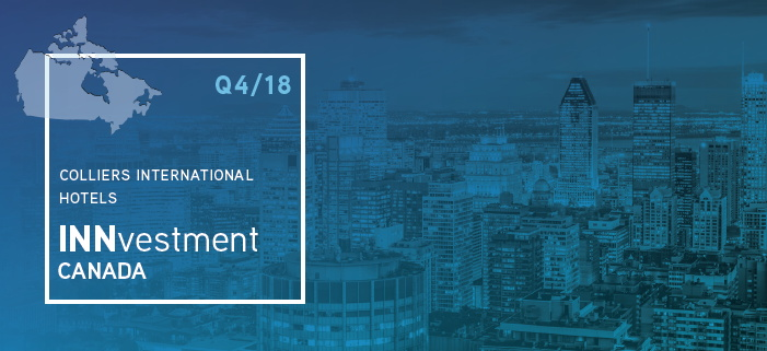 Colliers International Hotel INNvestment Canada Report Q4 2018 (PDF Download)