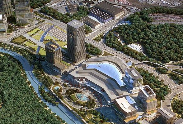 Radisson Blu Hotel Vadistanbul -Aerial view