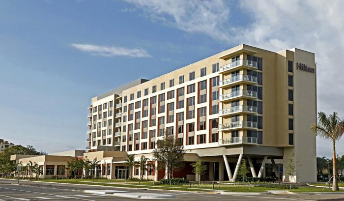 Hilton Miami Dadeland Hotel - Exterior