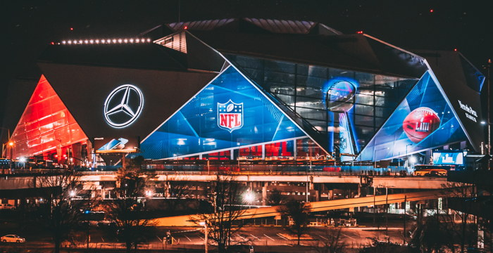 Mercedes-Benz Stadium, Atlanta, USA - Photo by Christopher Alvarenga on Unsplash