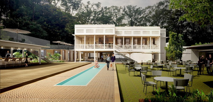 Rendering of the FCC Angkor - The Maison