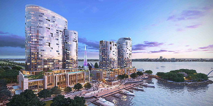 Rendering of the Ritz Carlton Perth