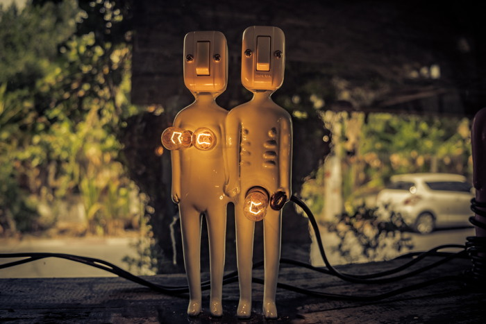 lighted switch character decor - Photo by Kira auf der Heide on Unsplash