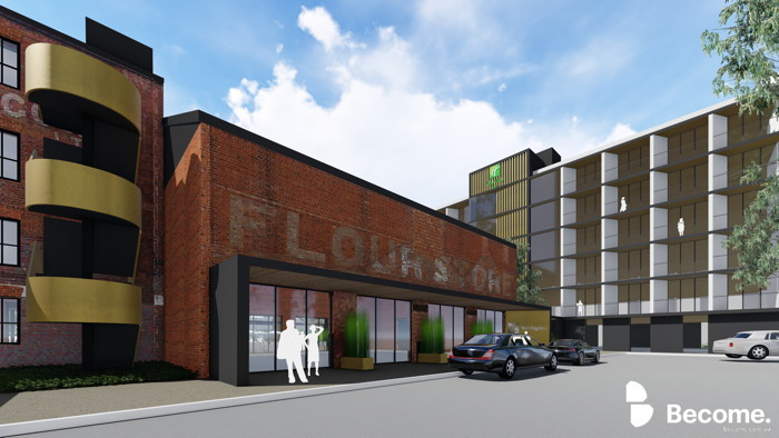 Rendering of the Holiday Inn in Wagga Wagga
