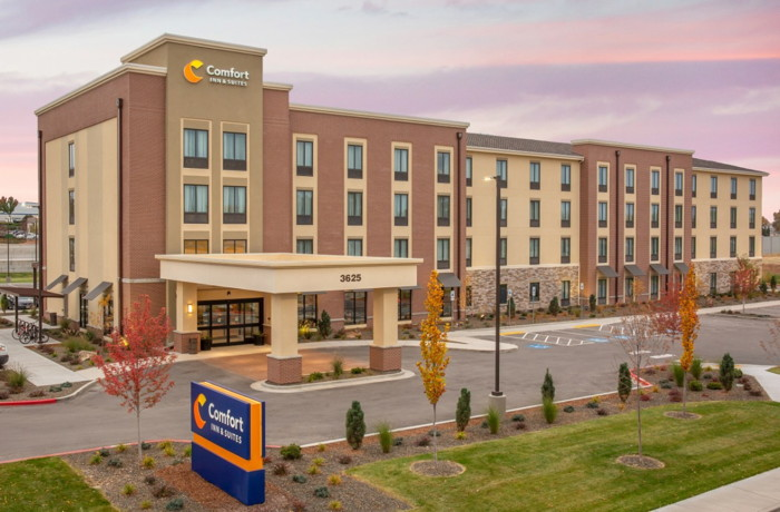 Rendering of a Comfort Hotels prototype