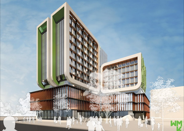Rendering of the Holiday Inn & Suites Dandenong
