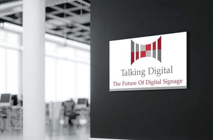 A Talking Digital Signage sign