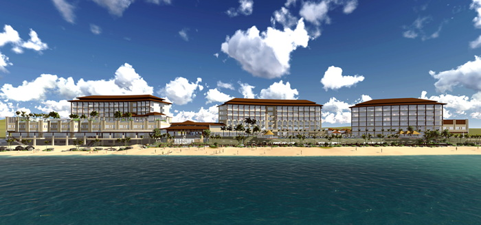 Dusit Thani Mactan Cebu - view from water