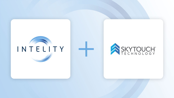 INTELITY and SkyTouch logos
