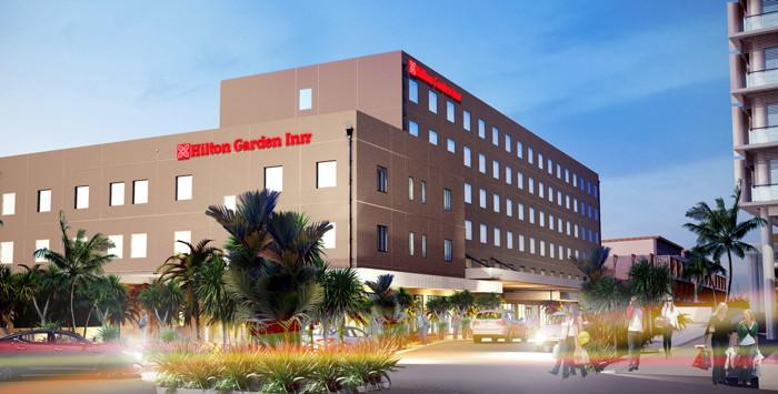 Rendering of the Hilton Garden Inn Suva