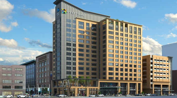 Dual-Branded Hyatt Place and Hyatt House Indianapolis - Exterior
