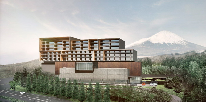 Rendering of the The Unbound Collection by Hyatt Hotel at Fuji Speedway