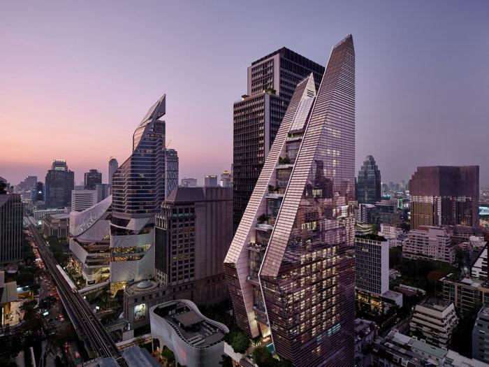 Rosewood Bangkok Hotel - Exterior