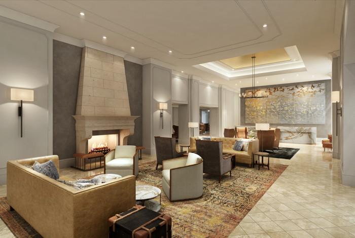 Château Élan Winery & Resort - Lobby