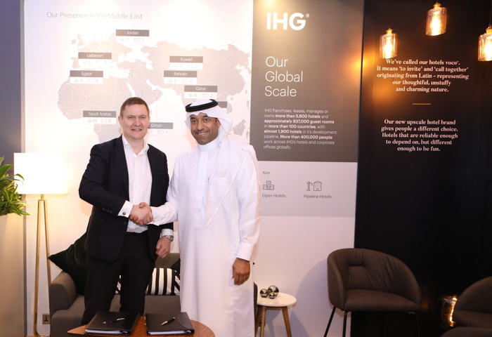 Image from IHG signing ceremony