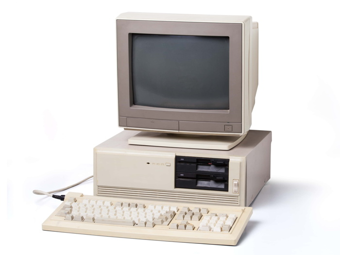 An old computer