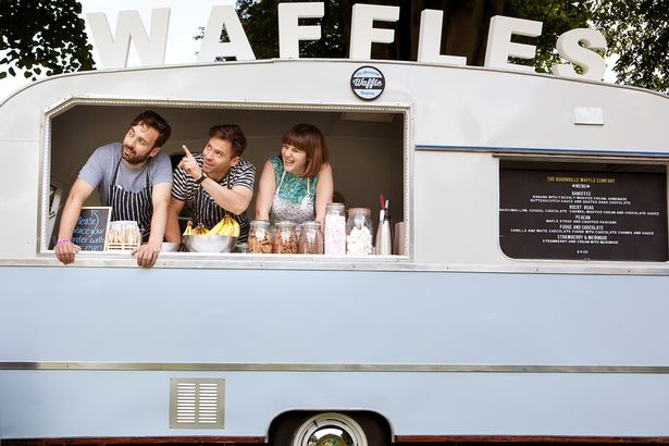 Bournville Waffle Company Food Truck
