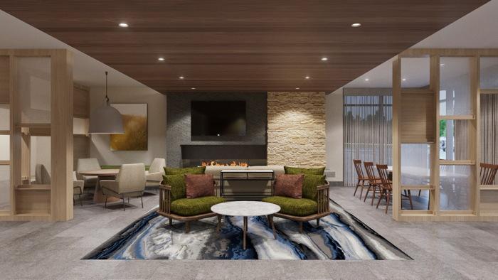Fairfield Inn & Suites Hotel in Jasper, Indiana - Lobby
