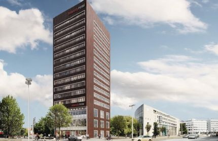 Rendering of the IntercityHotel Hannover Hauptbahnhof Ost