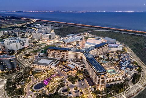 Paradise City, Korea - Aerial view