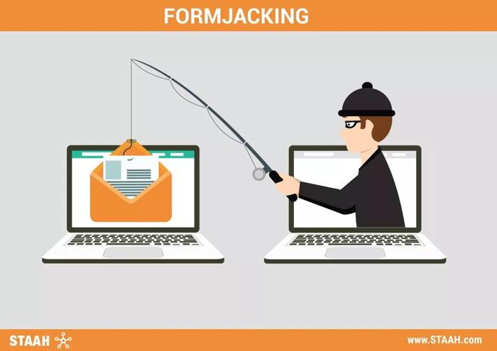 Illustration - Formjacking concept