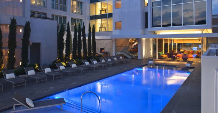 Lumen Hotel in Dallas, Texas - Pool