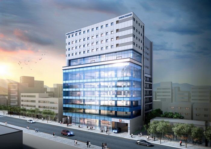 Rendering of the Toyoko Inn Daegu Dongseung-ro
