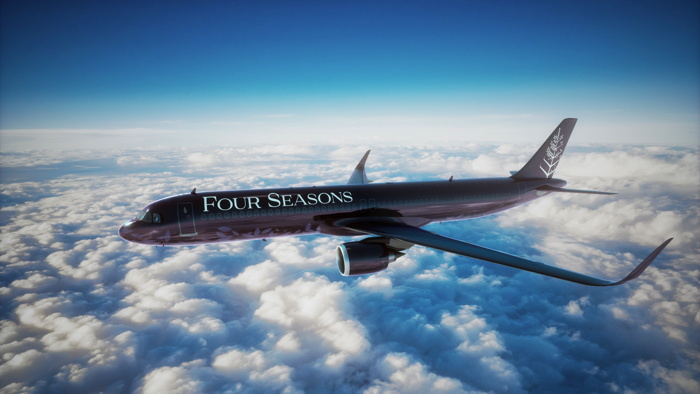A321LR Four Seasons Private Jet