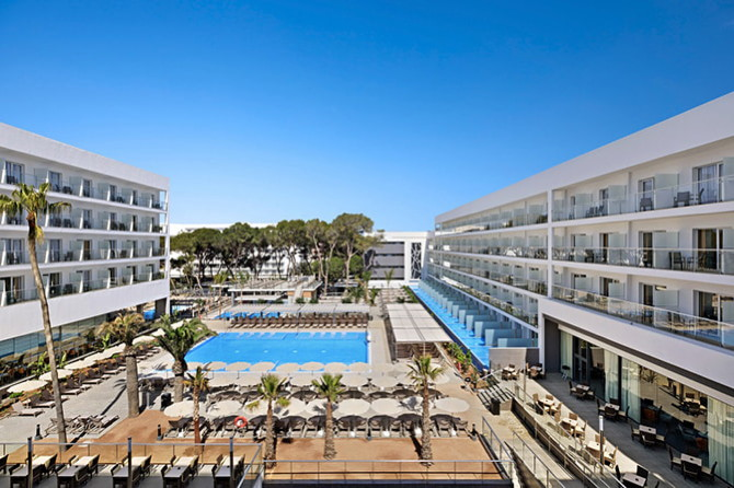 Riu Playa Park Hotel in Mallorca - Exterior