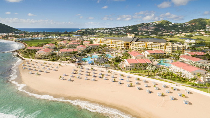 St. Kitts Marriott Resort and The Royal Beach Casino - Aerial view