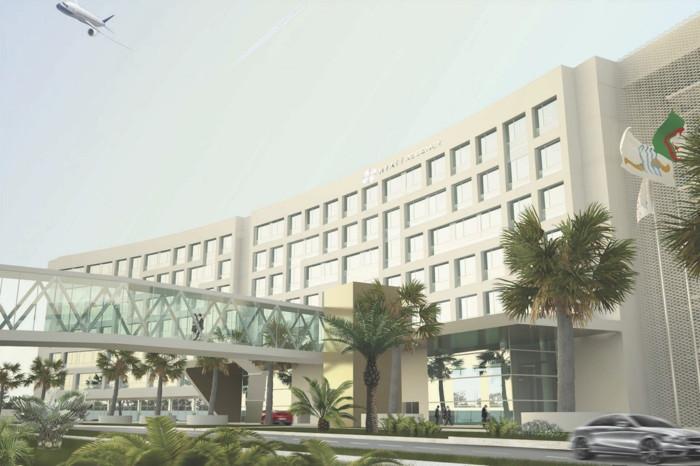Rendering of the Hyatt Regency Algiers Airport