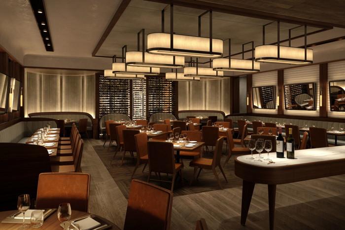 Sette restaurant interior