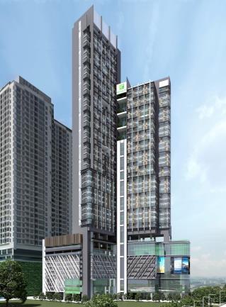 Rendering of the Holiday Inn Kuala Lumpur Bangsar